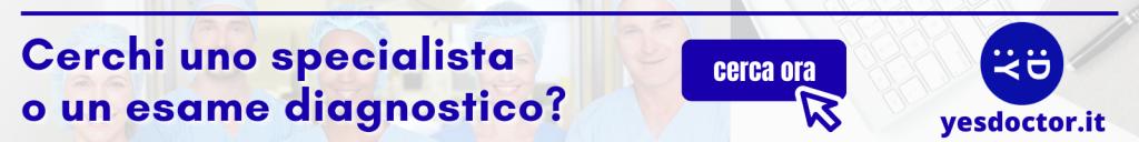 Cerca uno specialista o un esame diagnostico con Yesdoctor.it